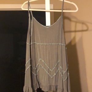 Tops - Olive tank top